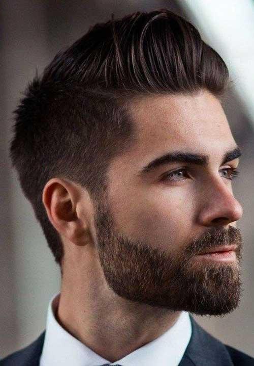 Elegant Pompadour Hairstyles for Guys