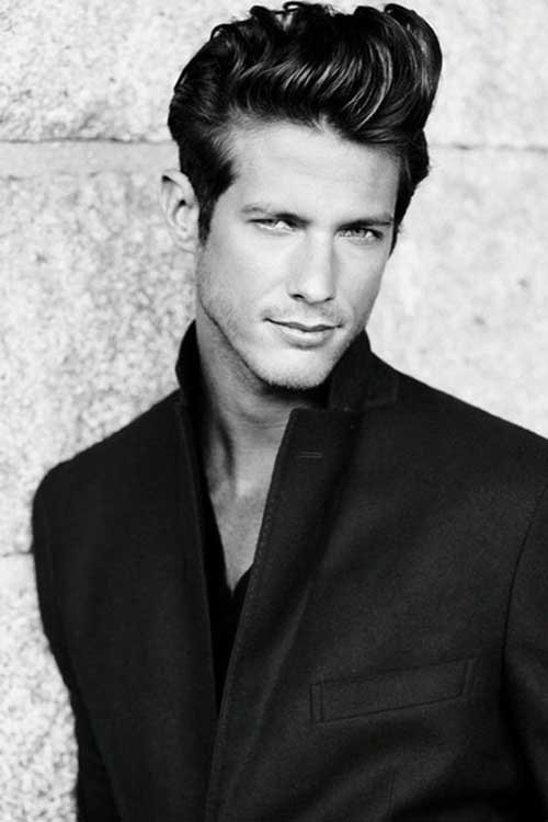 Male Hairstyles for Medium Length