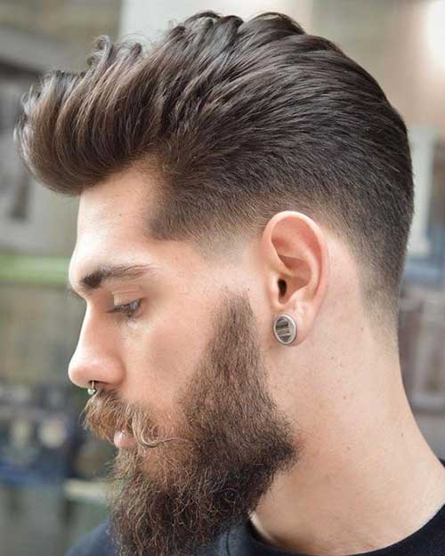 New Pompadour Hairstyles for Guys