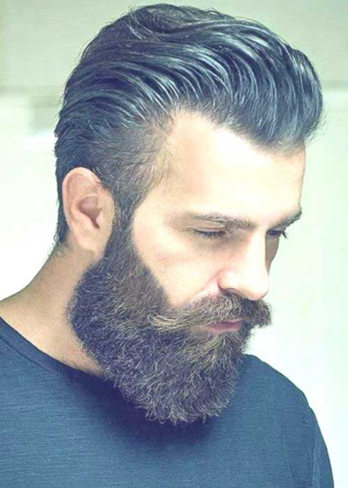 Pompadour Hairstyle for Mens