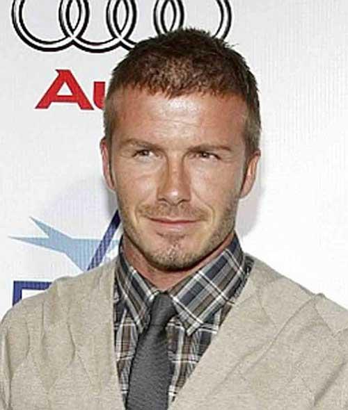 David Beckham Thin Haircuts for Men