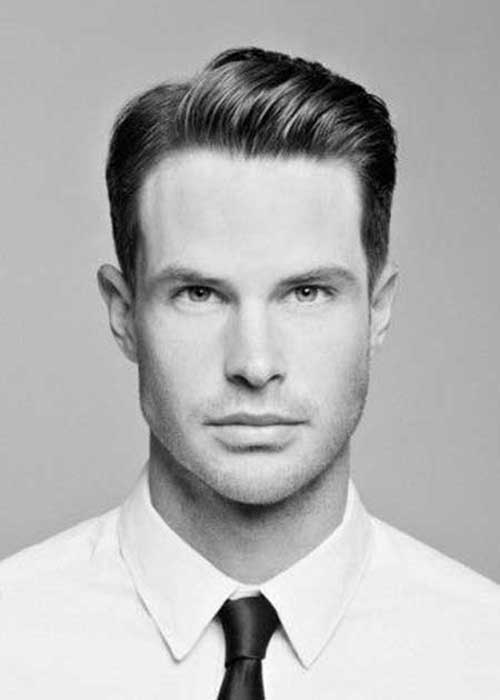 Oval Face Shape Male Formal Hairstyles