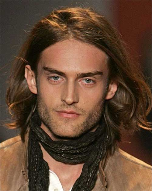 Guys Long Straight Haircuts