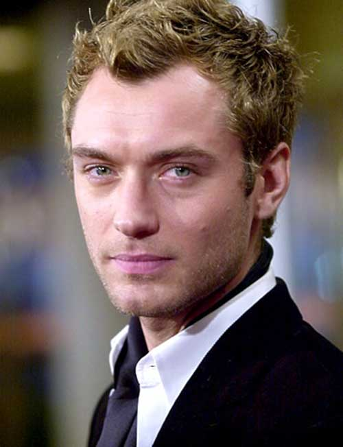 Jude Law Thin Haircuts for Men