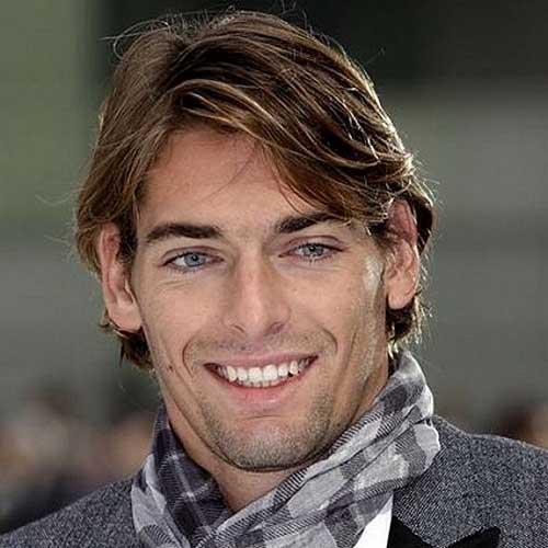 Medium Thin Haircuts for Men