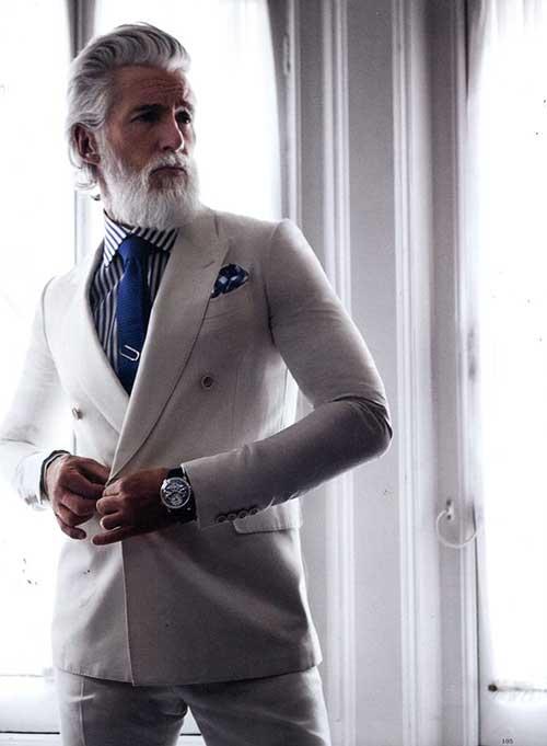 Business Elegant Hairstyles for Men