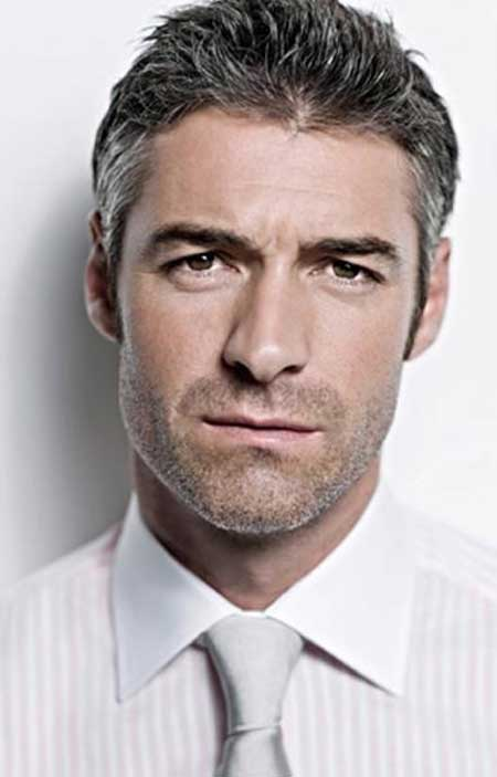 Business Salt and Pepper Hairstyles for Men