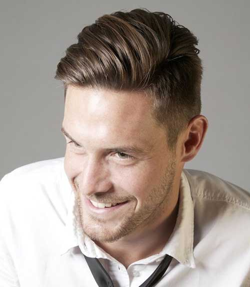 Business Short on Side Hairstyles for Men