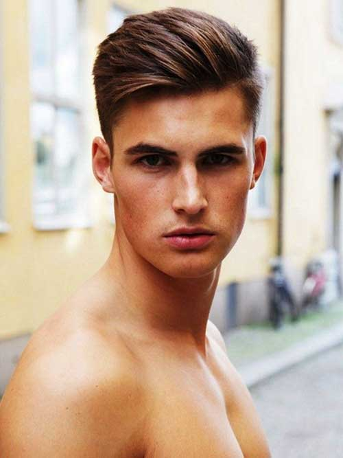 Oval Face Shape Hairstyles Men