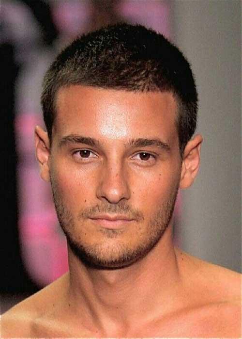 Thin Buzz Cut Haircuts for Men