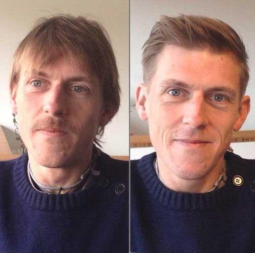 Thin Haircuts for Balding Men