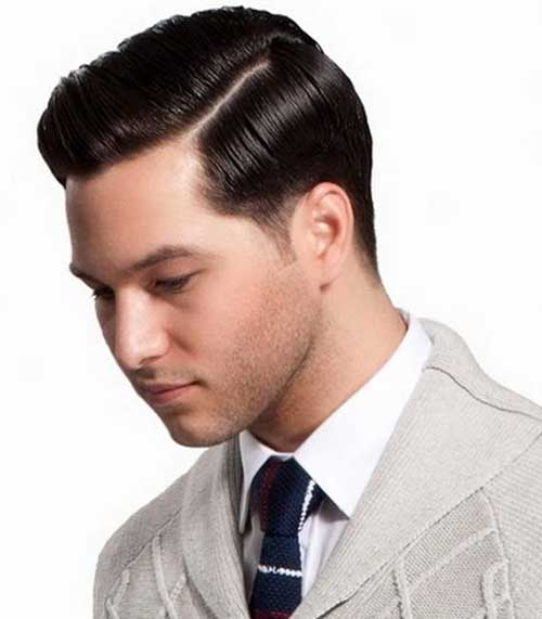 Side Part Hairstyles for Round Face Shape Male-18