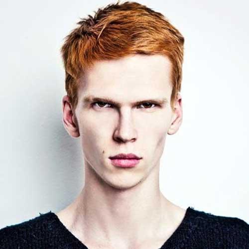 Ginger Mens Thick Haircuts-18