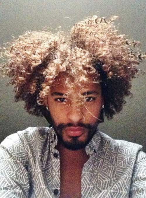Mens Thick Afro Haircuts-24