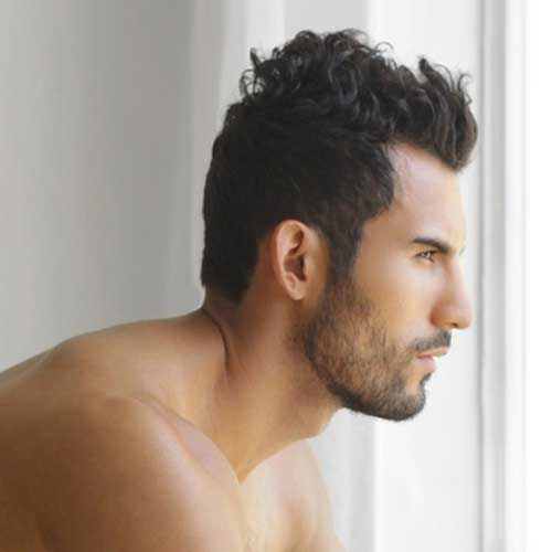 Mens Thick Hairstyles