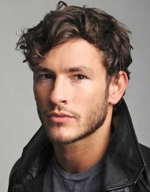 Hairstyles for Guys with Thick Curly Hair