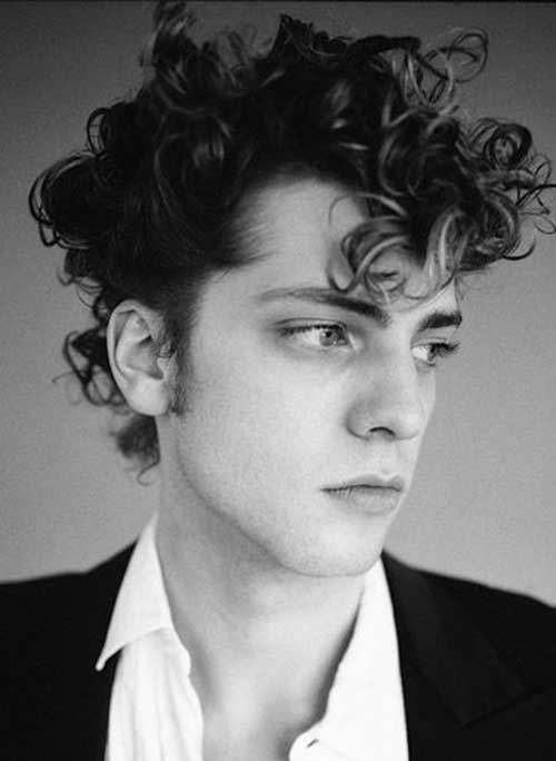 Hairstyles for Thick Curly Hair Men