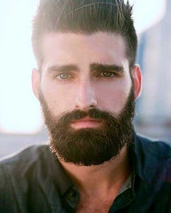 Long Square Face Haircuts for Men-10