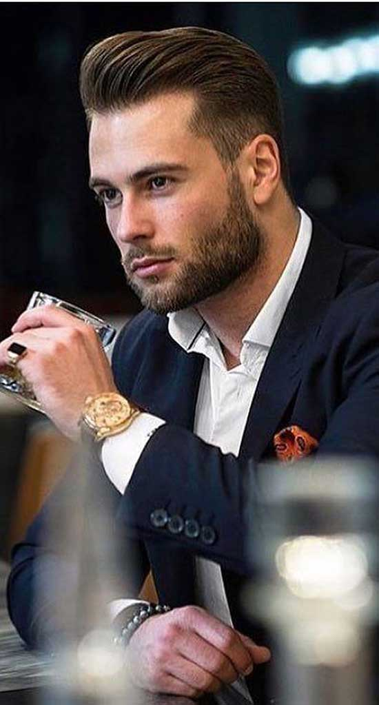 Square Face formal Haircuts for Men-13