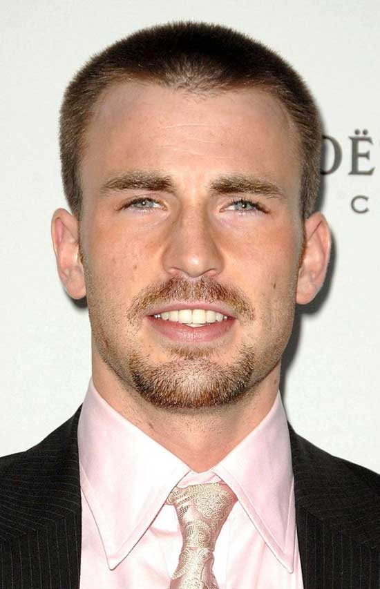 Square Face Buzz Cut Haircuts for Men-16