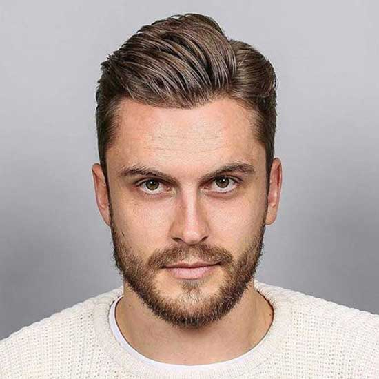Square Face Side Part Haircuts for Men-17