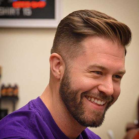 Square Face Haircuts for Gentlemen-18