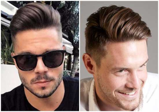 Square Face Quiff Haircuts for Men-19