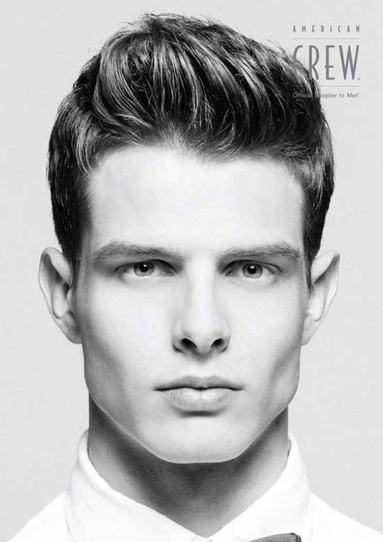 Square Face American Crew Haircuts for Men-20