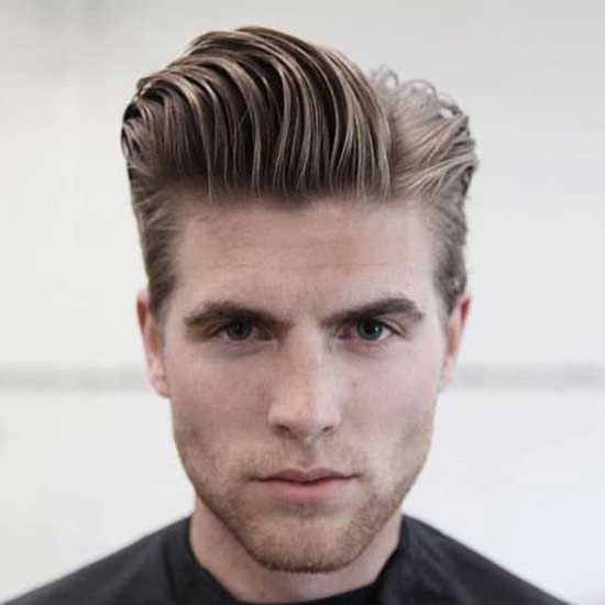 Square Face Natural Haircuts for Men-7