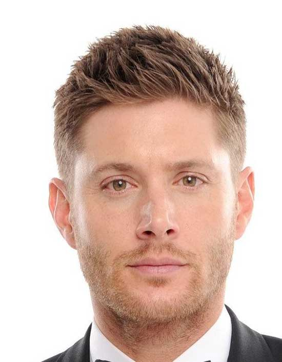 Trendy Square Face Haircuts for Men-9